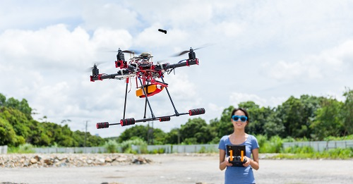 banque d'images prises par drone